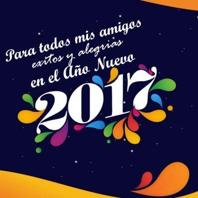feliz ano nuevo amigos exitos