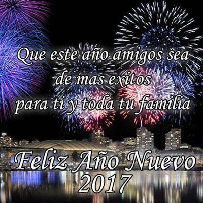 feliz ano nuevo amigos muchos exitos