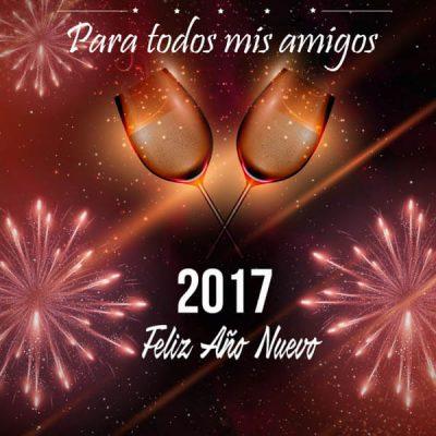 feliz ano nuevo amigos para todos