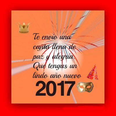 saludos de ano nuevo paz y alegria