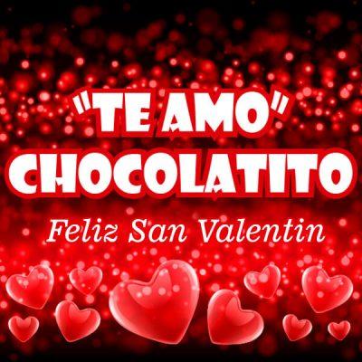 estados para san valentin chocolatito