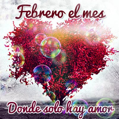 febrero mes del amor y la amistad puro amor