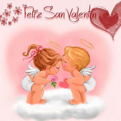 imagenes 14 febrero angelitos