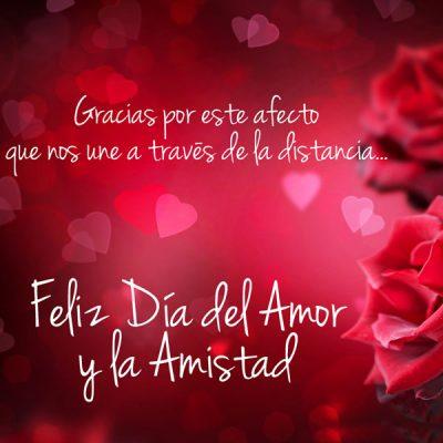 tarjeta gratis de san valentin gracias por este afecto