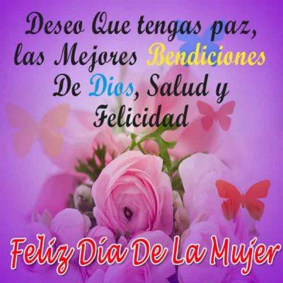 tarjetas del dia internacional de la mujer bendiciones