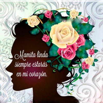 dedicatoria del dia de la madre linda