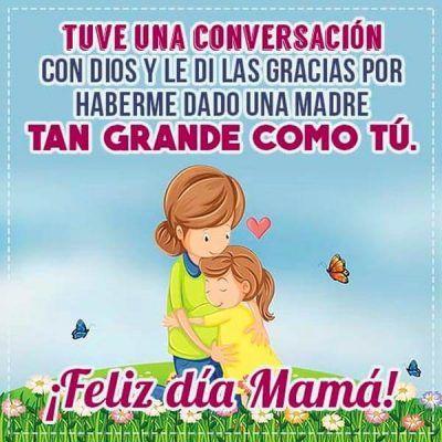 mensajes cortos para el dia de la madre gracias por todo