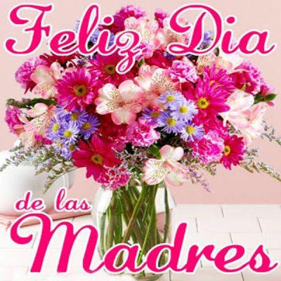 postales gratis dia de la madre ramo flores