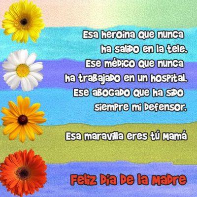 pensamientos para el dia de la madre maravillosa