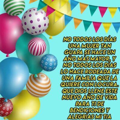 Imagenes Cristianas De Cumpleanos Para Una Tia Globos
