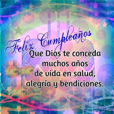 Imagenes Cristianas De Feliz Cumpleanos Salud