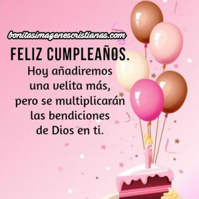 Feliz Cumpleaños Amiga Bendiciones Velita