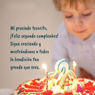 Feliz cumpleaños Hijo Frases Cristianas Tesoro